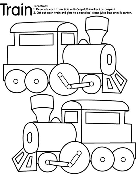 coloring pages for kids trains coloring pages