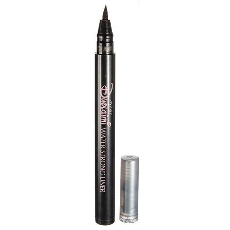 Eyeliner Silky makeup black soft waterproof lasting eyeliner liquid pen pencil alex nld