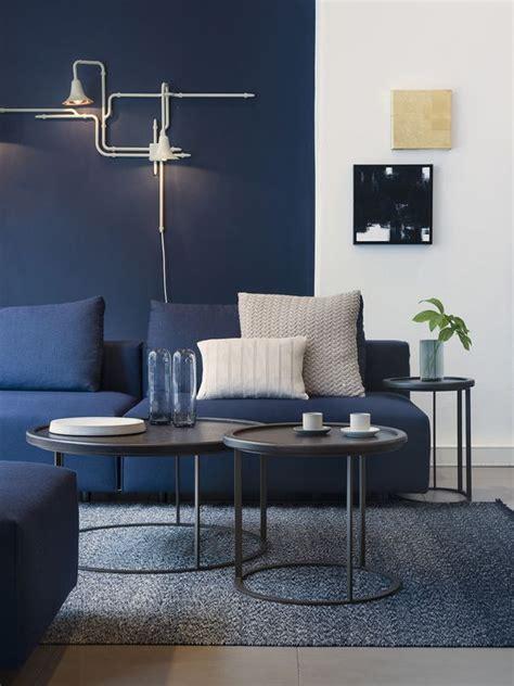 interior decor living rooms  moody blue interiors