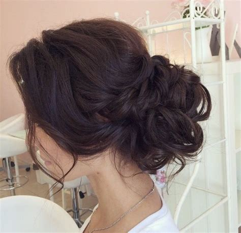 Wedding Hair Buns For Hair by 25 Best Ideas About Wedding Low Buns On