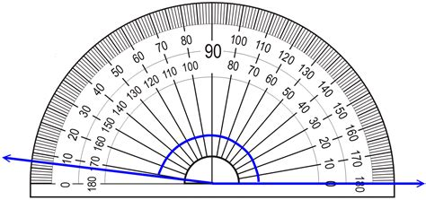 measuring angles with a protractor lesson video