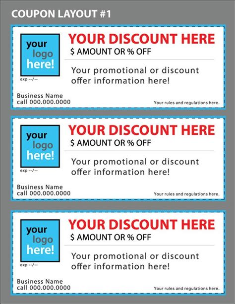 html coupon template 11 free coupon templates word excel pdf formats