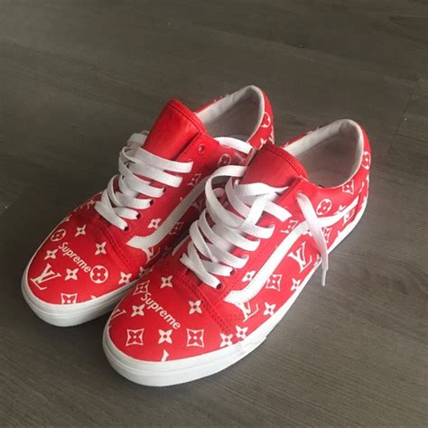 supreme shoes supreme shoes louis vuitton vans poshmark