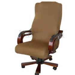 armchair protector covers swivel computer chair cover stretch office armchair