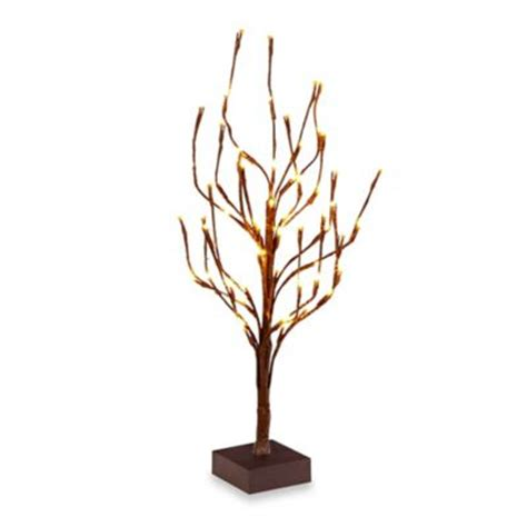 lighted tree home decor buy home decor lighted tree from bed bath beyond