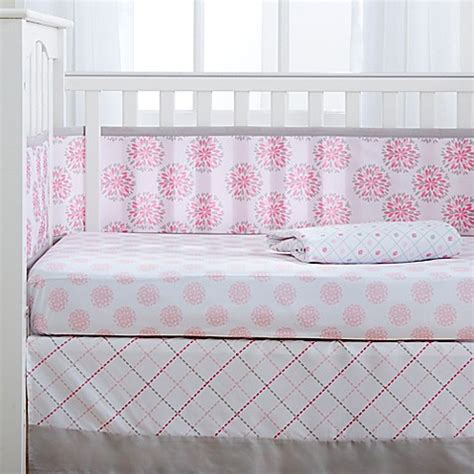 Dahlia Crib Bedding Breathablebaby 174 Dahlia Crib Bedding Collection Buybuy Baby