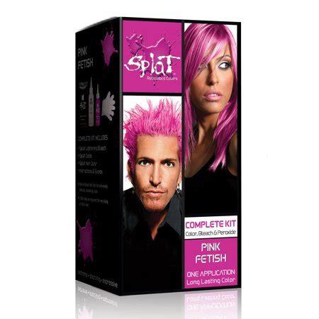 hair dye colors walmart splat rebellious colors pink semi permanent hair