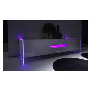 meuble tv avec led lumia domobilis