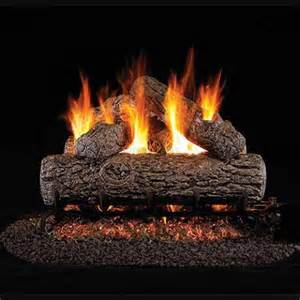 Peterson Fireplace Logs by 18 Peterson Real Fyre Vented Golden Oak Gas Logs