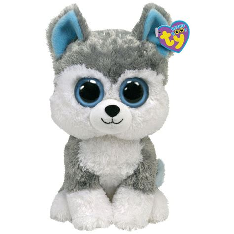 ty beanie boos dogs ty beanie boos slush the medium at toystop