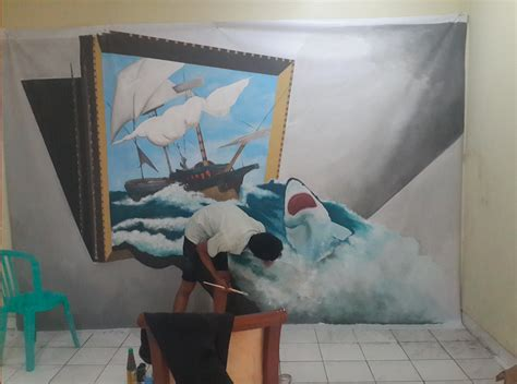 Interior Illusions Home by Art Of Interior Decoration With 3d Wall Painting Mural Of