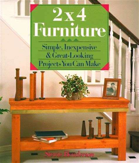 is simple books 2x4 furniture simple inexpensive great looking