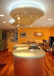 exotic kitchen ceiling design picture  interior