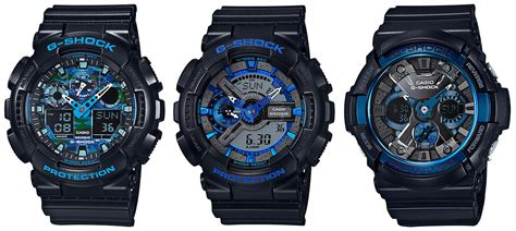 G Shock Blue g shock cool blue and solid big series g