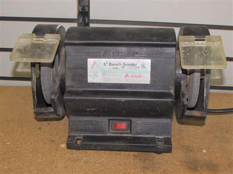 5 bench grinder lot detail alltrade 5 quot bench grinder