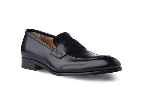 italian loafer shoes loafer shoes in black antique