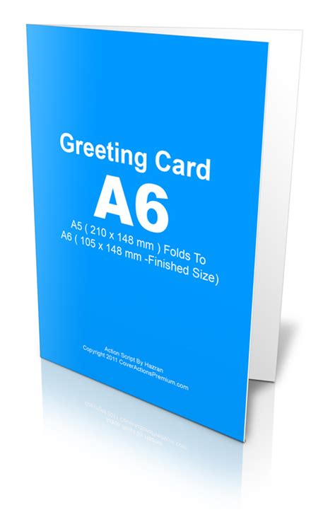 A5 Greeting Card Template Photoshop by A6 Greeting Card Script Cover Actions Premium