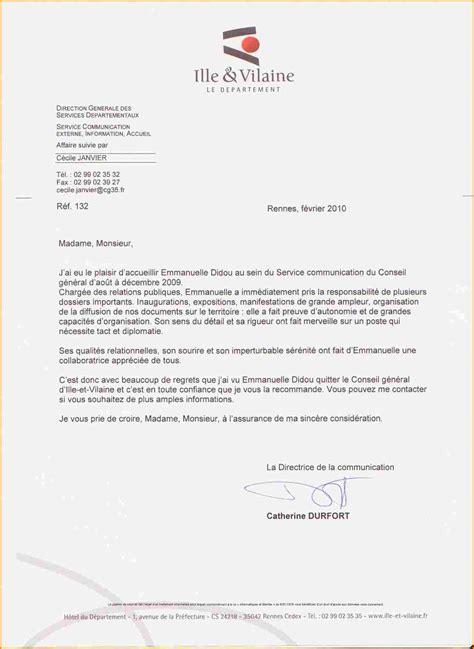 Lettre De Recommandation Concours 14 lettre de recommandation en anglais curriculum vitae