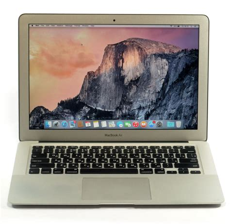 Macbook Air Intel I7 apple macbook air 13 3 inch intel i7 1 8 ghz 4 gb 256 gb ssd ebay