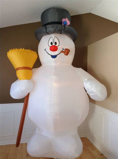 frosty the snowman christmas decorations frosty the snowman 10 airblown decoration and