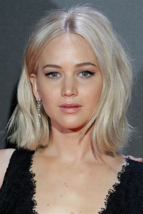 recent celebrities to cut their hair jennifer lawrence fall 2015 video hunger games madrid
