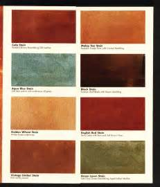 acid stain colors quot kemiko quot acid stain color chart