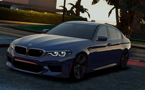 m5 f90 bmw m5 f90 2018 libertywalk stock add on gta5 mods
