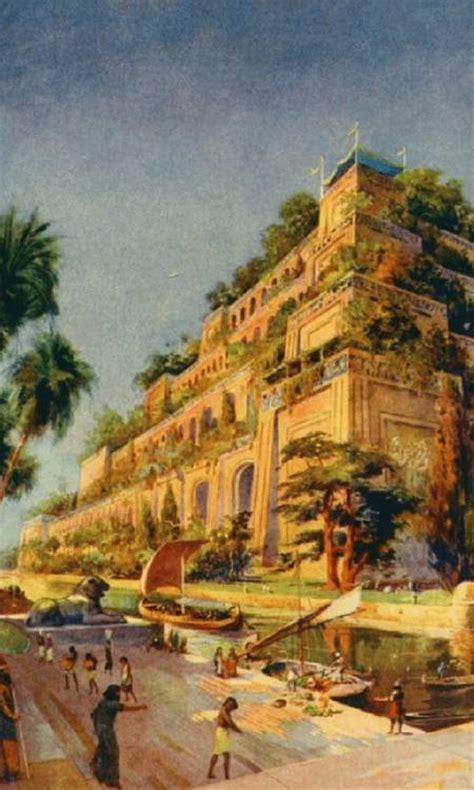 the hanging gardens of babylon ancientworldwonders