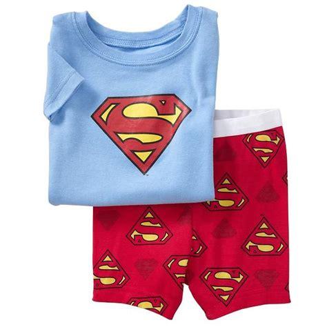 Piyama Boy Superman new arrival superman boy s summer pajamas suits blue t