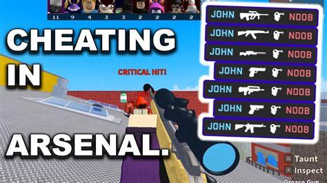 cheats   op  arsenal youtube