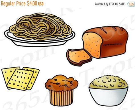 food coloring whole foods grains clipart grains clip food groups fiber bread
