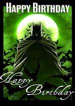 Batman Printable Birthday Card Popular Birthday Cards Disney Cartoon Characters