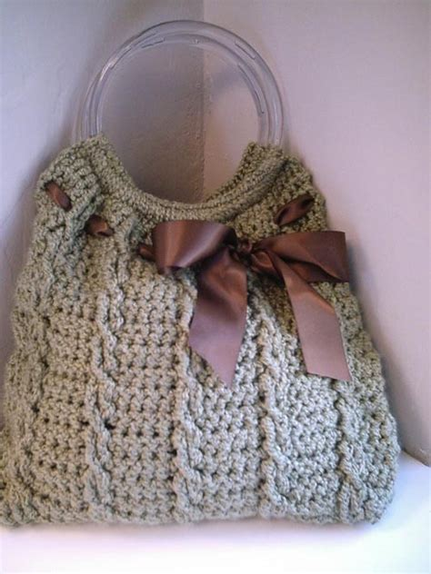 patterns free crochet bags tote bag pattern hobo bag knitting pattern ribbon