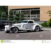 Excalibur Roadster Automobile Stock Photo  Image 31944788