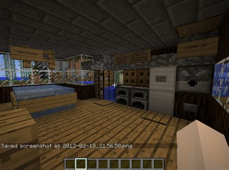 Minecraft Automatic Kitchen Minecraft Island Resort Project Contest Steve S Secluded