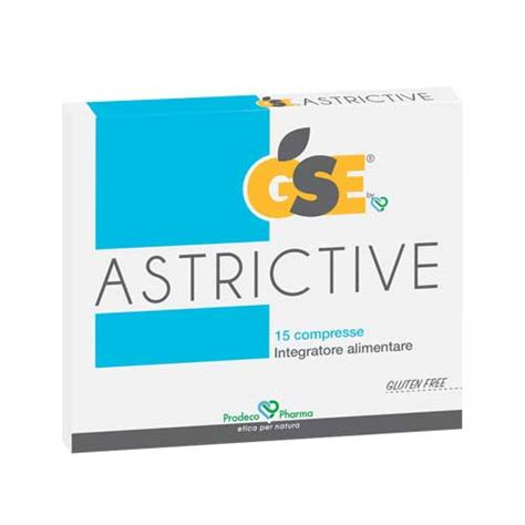 integratore alimentare in inglese gse astrictive 15 compresse prodecopharma