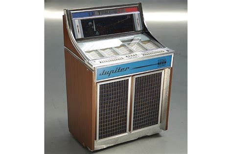 Box Jupiter sold 1967 jupiter concord juke box in working order auctions lot x shannons