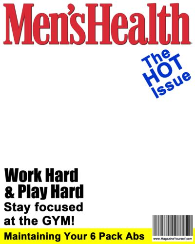 create men s health magazine covers