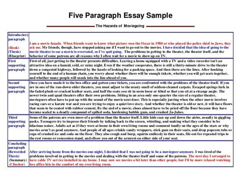 format opinion essay 3 paragraph essay exle for kids google search