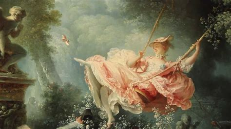 painting the swing rococo