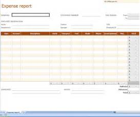Excel Expense Report Template Free by Expense Report Excel Template Reporting Expenses Excel