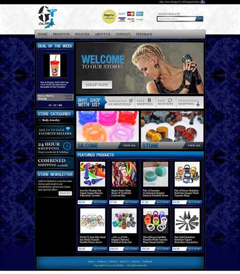 ebay templates ebay template custom design listing gt gt 25