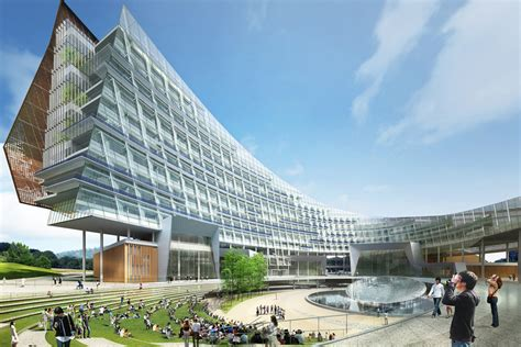 modern architecture world of architecture modern architecture in south korea hydro nuclear power headquarters by h