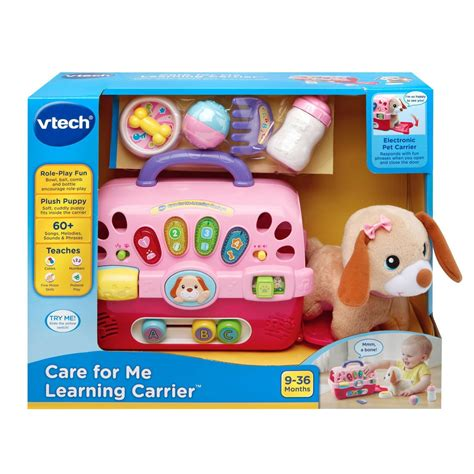 vtech puppy vtech care for me learning puppy carrier best educational infant toys stores singapore
