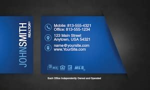 Realty Executives Business Cards Templates by Realty Executives Business Card Template 25