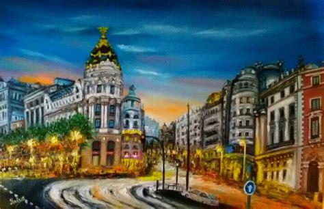cuadros gran via madrid madrid gran via helen bellart pintura contempor 225 nea