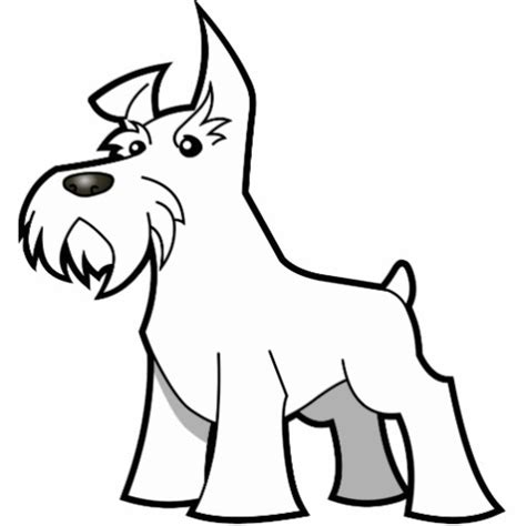 Schnauzer Coloring Pages sketch schnauzer puppy coloring pages