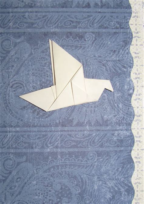 Origami Doves - origami dove handmade origami designs
