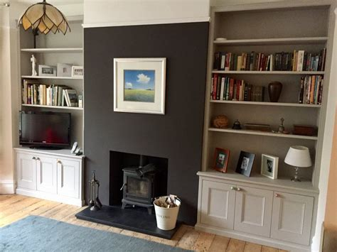 Living Room Alcove Cupboards by Built Bespoke Wardrobes Alcove Units Shelves And