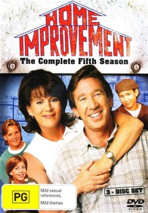 home improvement season 5 3 discs 1995 new dvd